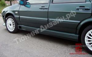 """Пороги """"AVR"""" для ВАЗ 2109, 21099 и 2114, 2115"""