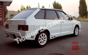 """Бампер задний """"RS (Рузанов Спорт)"""" для ВАЗ 2108, 2109 и 2113, 2114"""