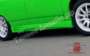 """Пороги """"AVR Avrora"""" для ВАЗ 2110, 2111, 2112"""