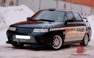 """Бампер передний """"Lukoil"""" для ВАЗ 2110, 2111, 2112"""