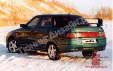 """Бампер задний """"Nika-5"""" для ВАЗ 2110"""