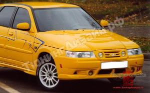 """Бампер передний """"Nika Sport"""" для ВАЗ 2110, 2111, 2112"""