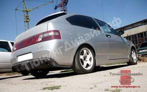 "Бампер задний ""AVR Avrora"" для ВАЗ 21123 (купе)"