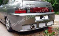"""Бампер задний """"E-4"""" для ВАЗ 2112"""