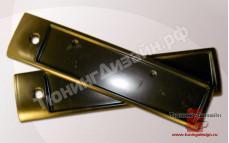 """Накладка под задний номер """"Fanat"""" для ВАЗ 2112, 21123"""