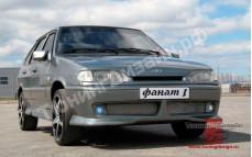 """Бампер передний """"Fanat-1 (Фанат-1)"""" тюнинг для ВАЗ 2108, 2109, 21099"""