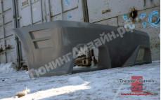 """Бампер задний """"AVR Cup (АВР Кап) вариант 2"""" тюнинг для ВАЗ 2108, 2109, 2113, 2114"""