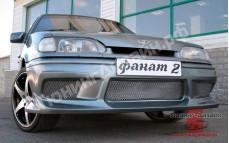 """Бампер передний """"Fanat-2 (Фанат-2)"""" тюнинг для ВАЗ 2113, 2114, 2115"""