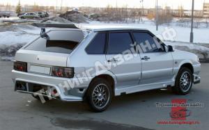"""Бампер задний """"RS-2 (Рузанов Спорт)"""" для ВАЗ 2108, 2109 и 2113, 2114"""