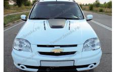"""Капот стеклопластиковый """"I, Robot DTM"""" для Chevrolet Niva (ВАЗ 2123)"""