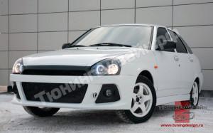 """Тюнинг обвес """"Snaiper WRC"""" для Лады Приора седан (ВАЗ 2170)"""
