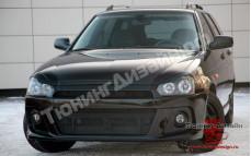"""Бампер передний """"Snaiper WRC (Снайпер WRC)"""" тюнинг для ВАЗ 2170, 2171, 2172 Приора"""