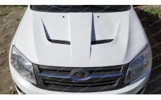 """Капот стеклопластиковый """"AVR Cup"""" для Лады Гранта (ВАЗ 2190, 2191) и Лады Калина-2 (ВАЗ 2192, 2194)"""
