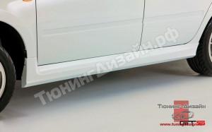 "Пороги ""GTS"" для Лады Гранта (ВАЗ 2190, 2191) и Лады Калина-2 (ВАЗ 2192, 2194)"