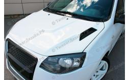 """Капот стеклопластиковый """"I, Robot"""" для Лады Гранта (ВАЗ 2190, 2191) и Лады Калина-2 (ВАЗ 2192, 2194)"""