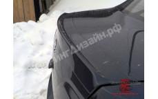 "Лип-спойлер ""Smiley"" для Лады Гранта седан (ВАЗ 2190)"