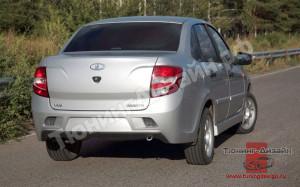 """Бампер задний """"Snaiper WRC"""" для Лады Гранта седан (ВАЗ 2190)"""