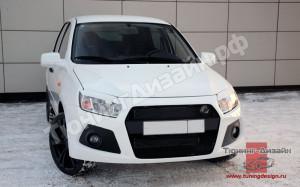 """Тюнинг обвес """"Snaiper WRC"""" для Лады Гранта седан (ВАЗ 2190)"""