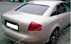 """Накладка на стекло (козырек) """"ARS"""" для Audi A6"""