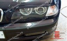 """Накладки на фары (нижние) """"ARS"""" тюнинг BMW E46 - M3 Series (БМВ Е46 - 3 серии)"""