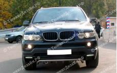"""Бампер передний (реплика) """"YT"""" тюнинг для BMW X5 (БМВ E53)"""