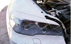 "Накладки на фары (реснички широкие) ""ARS"" тюнинг для BMW X5 (БМВ E70)"
