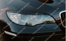 "Накладки на фары (реснички для стандартных фар) ""MV"" тюнинг для BMW X6 (БМВ E71/E72)"