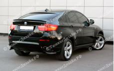 """Накладки заднего бампера (клыки) """"GT"""" для BMW X6 (E71/E72)"""