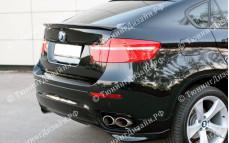 "Лип-спойлер ""GT"" тюнинг для BMW X6 (БМВ E71/E72)"