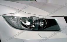 "Накладки на фары (реснички) ""ARS"" тюнинг для BMW E90 - M3 Series (БМВ Е90 - 3 серии)"