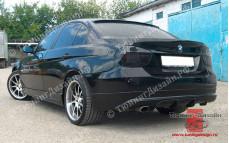 """Накладка на задний бампер """"MV"""" тюнинг для BMW E90 - M3 Series (БМВ Е90 - 3 серии)"""