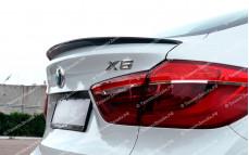 """Лип-спойлер (с выемкой) """"BSM Performance"""" тюнинг для BMW X6 (БМВ F16)"""