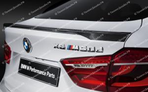 """Лип-спойлер """"M Performance"""" для BMW X6 (F16)"""