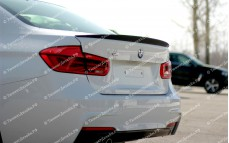 "Лип-спойлер (без выреза) ""Movery"" тюнинг для BMW F30 - M3 Series (БМВ F30 - 3 серии)"