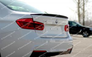 "Лип-спойлер (без выреза) ""Movery"" для BMW F30 - M3 Series"