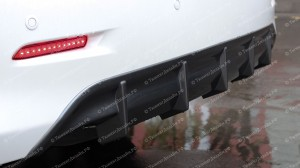 """Накладка на задний бампер (диффузор) """"ARS"""" для Toyota Camry XV50 [2011-2014]"""