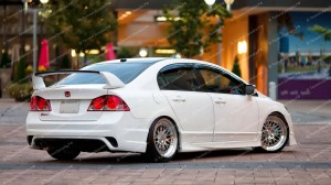 "Бампер задний ""INGS Extreem"" для Honda Civic седан [2006-2012]"