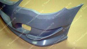 "Накладки на бампер (рассекатели) ""INGS Extreem"" для Honda Civic седан [2006-2012]"