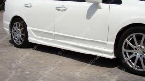 """Накладки на пороги """"INGS Extreem"""" для Honda Civic седан [2006-2012]"""