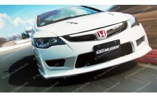 """Капот стеклопластиковый """"Mugen Style Type-R"""" для Honda Civic седан [2006-2012]"""