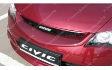 """Решетка радиатора (маска) """"Mugen Style"""" для Honda Civic седан [2006-2009]"""