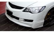 "Накладка на передний бампер ""Mugen Style"" для Honda Civic седан (дорестайлинг) [2006-2009]"