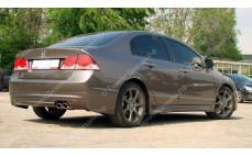 "Накладка на задний бампер ""Mugen Style"" для Honda Civic седан [2006-2012]"