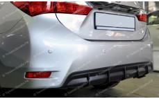"Накладка на задний бампер (диффузор) ""ARS"" для Toyota Corolla E160 [2012-2016]"