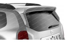 """Спойлер (чистое стекло) """"PTG"""" для Renault Duster [2011–н.в.]"""