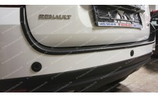 "Защитная накладка на задний бампер ""ARS"" для Renault Duster (большая) [2011 – 2015]"