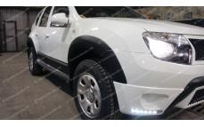 """Накладки на арки (расширители) """"ARS"""" для Renault Duster [2011–2015]"""