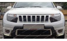 "Решетка радиатора (маска) ""Cherokee Style"" для Renault Duster [2011 – н.в.]"
