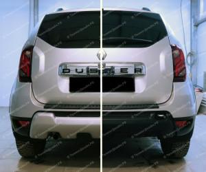 "Накладка на задний бампер ""ARS"" для Renault Duster [2015–н.в.]"