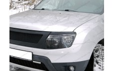 "Накладки на фары (реснички) ""DM Style (ДМ Стиль)"" тюнинг для Renault Duster (Рено Дастер)"